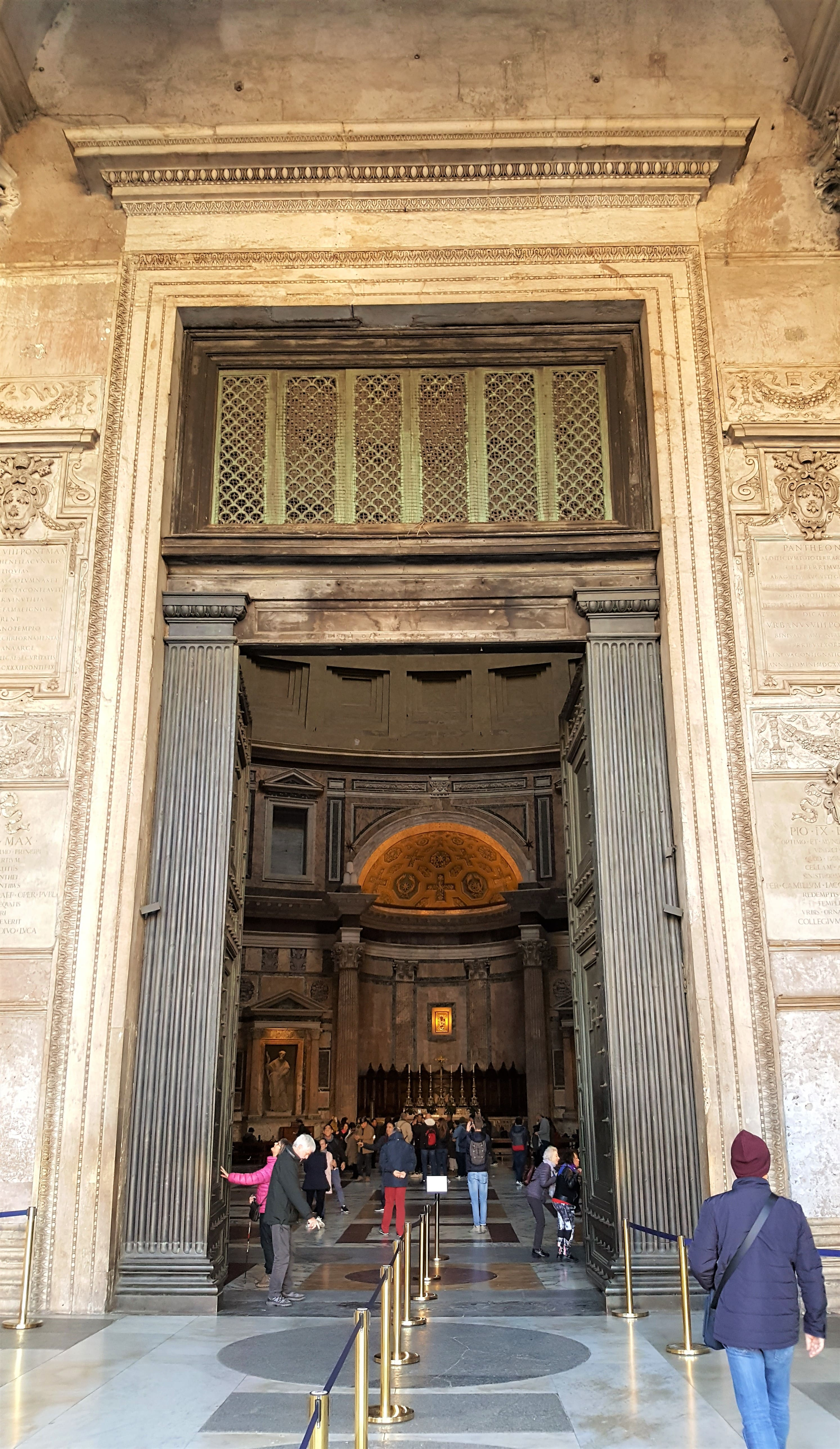 Entry of the Pantheon