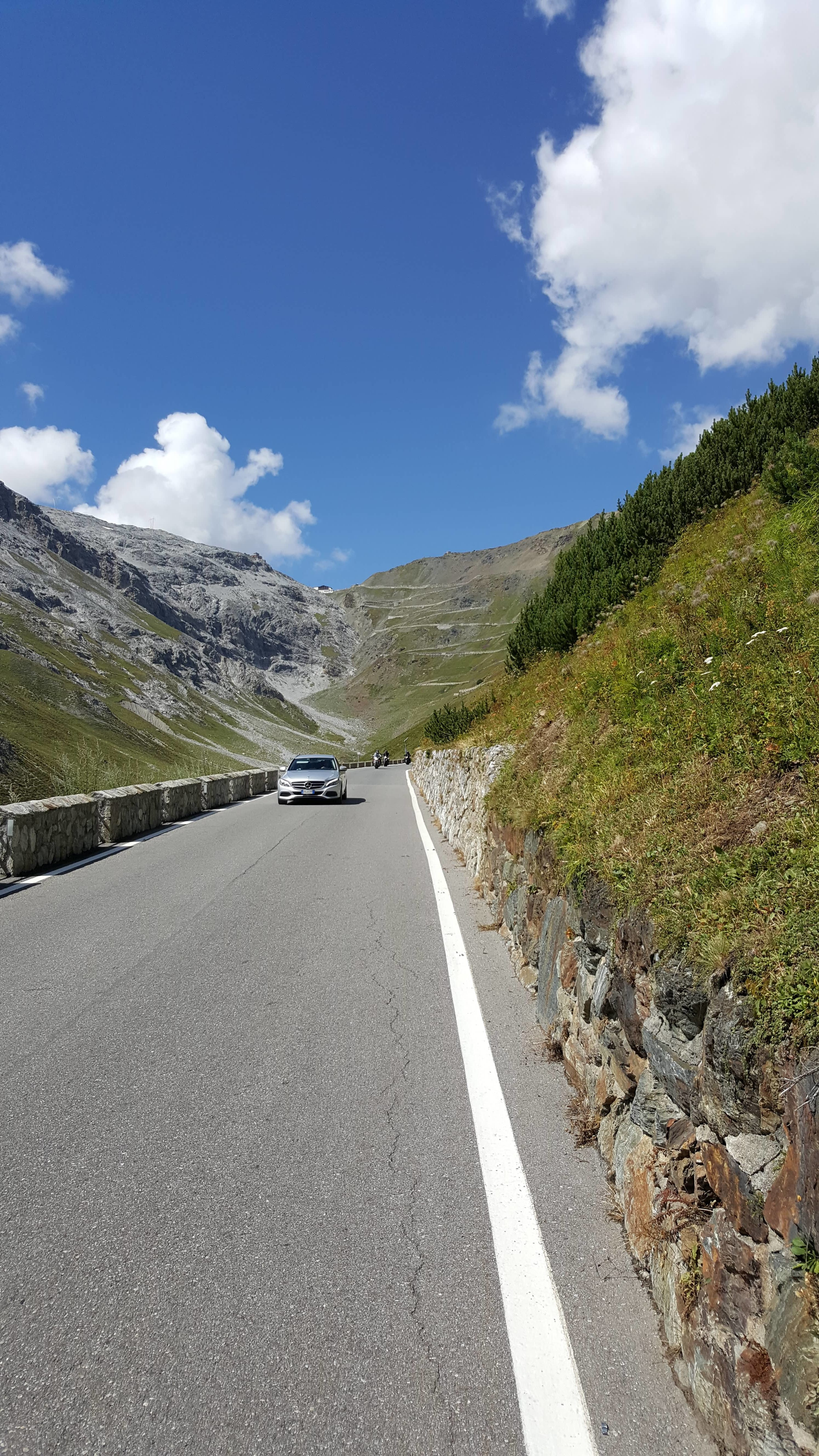 First view of the Passo