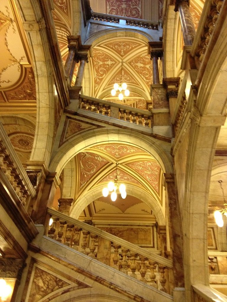 Stairs in Glascow City chambers