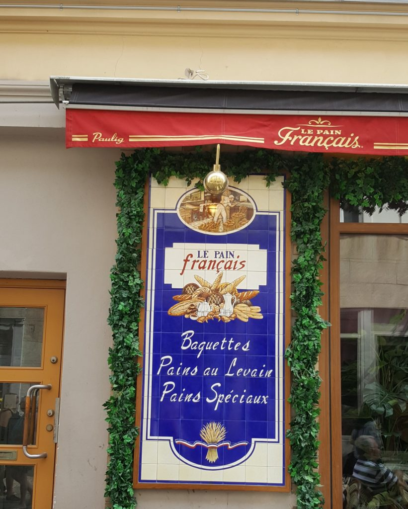 French bakery in Sweden